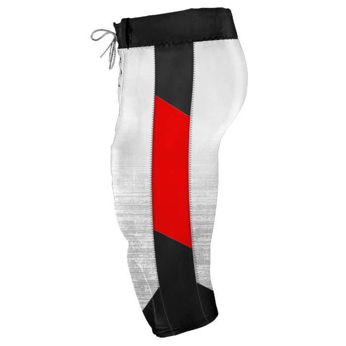 Elite Concave Football Uniform Custom Sublimated Pants Side View