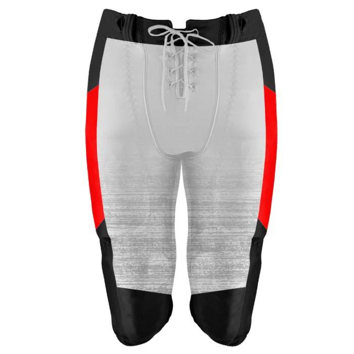 Elite Concave Football Uniform Custom Sublimated Pants Front View