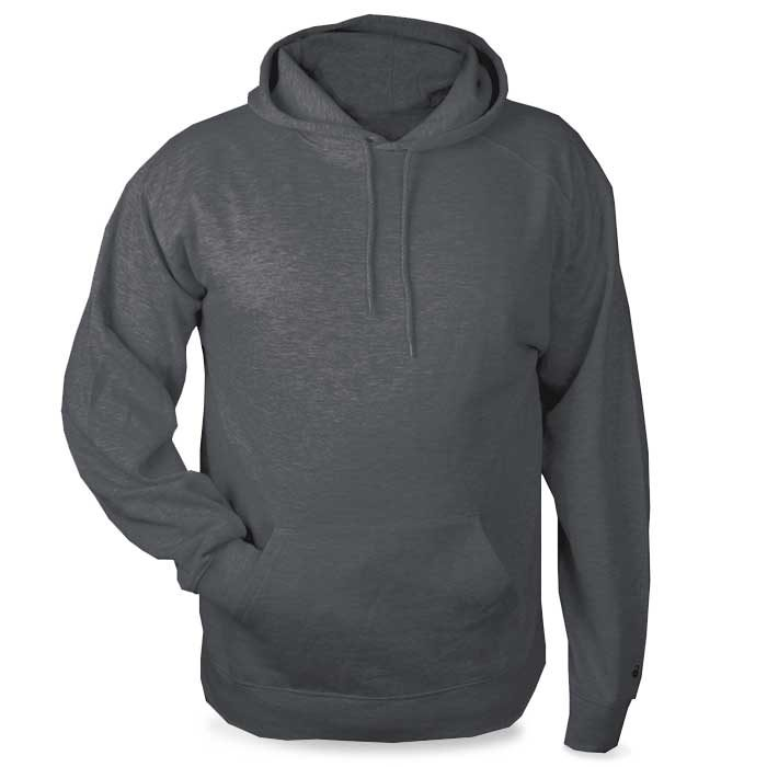 Charcoal Grey Highlight Hoodie with Your Team Logo