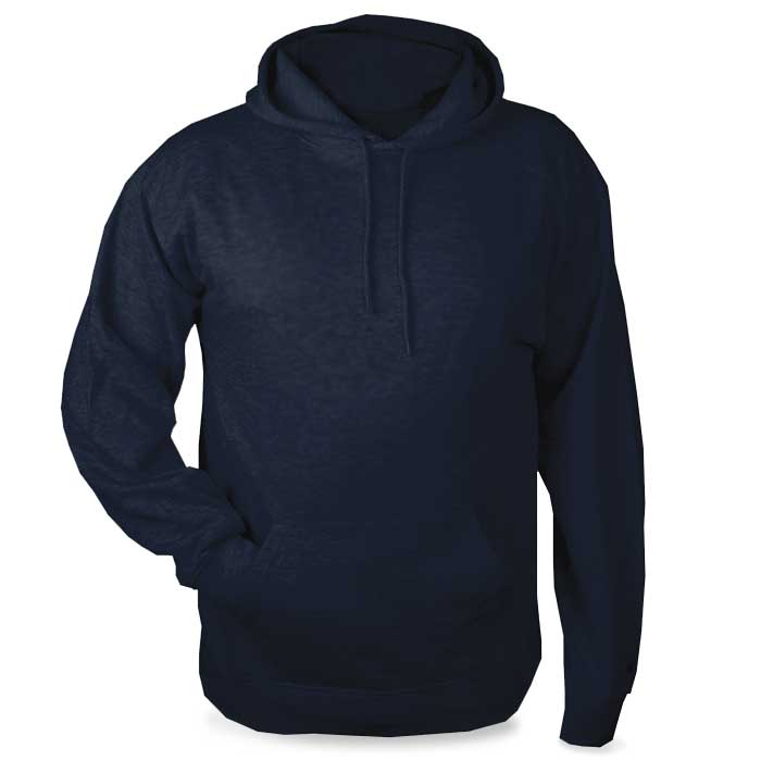 Navy Blue Highlight Hoodie with Your Team Logo