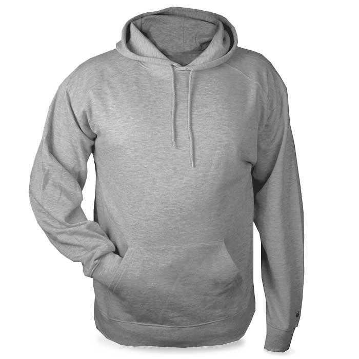 Oxford Grey Highlight Hoodie with Your Team Logo
