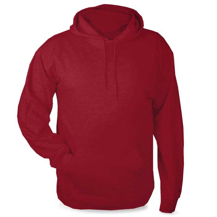 Red Highlight Hoodie with Your Team Logo