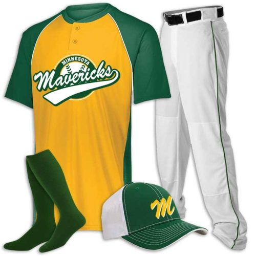 Limit Baseball Uniform Jersey, Pants, Cap and Socks Combo