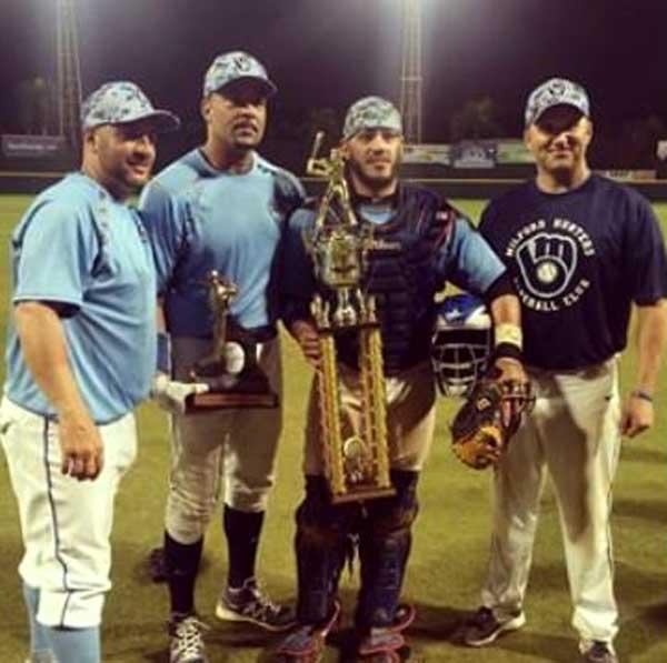 Milford Hunters Baseball Champions