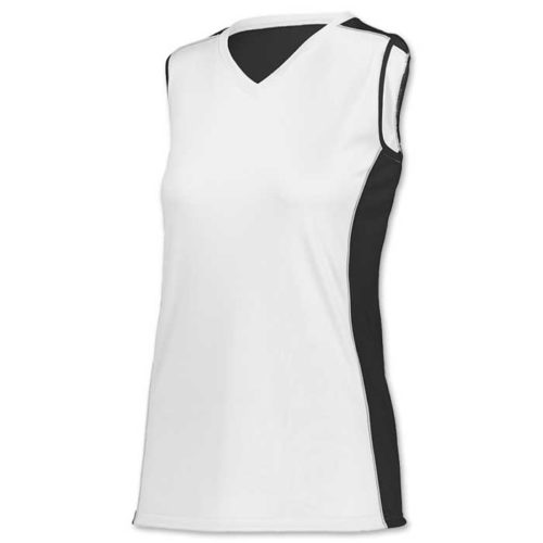white paragon softball jersey