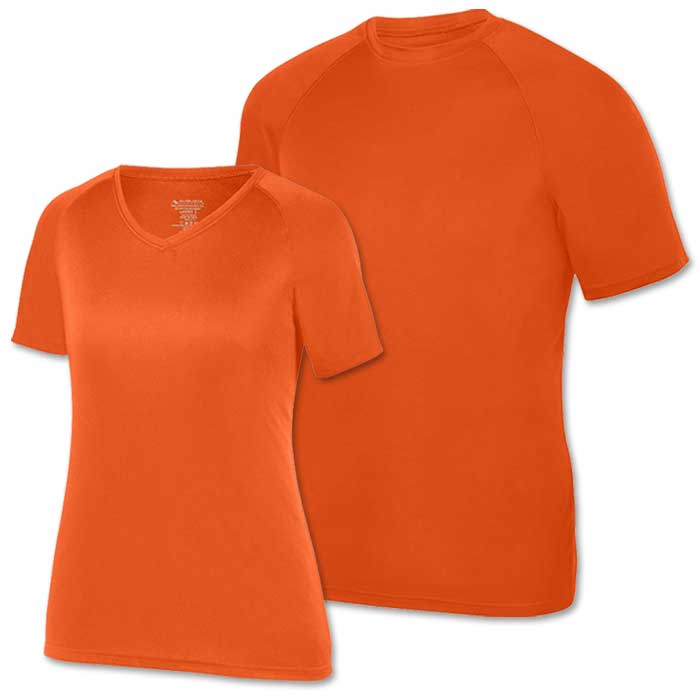 Orange Performance Tee SS