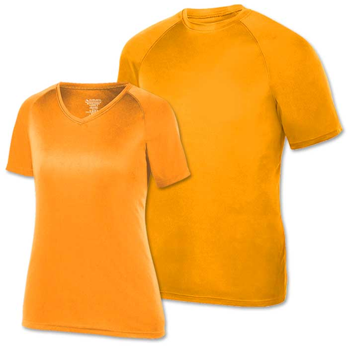 Power Orange Performance Tee SS
