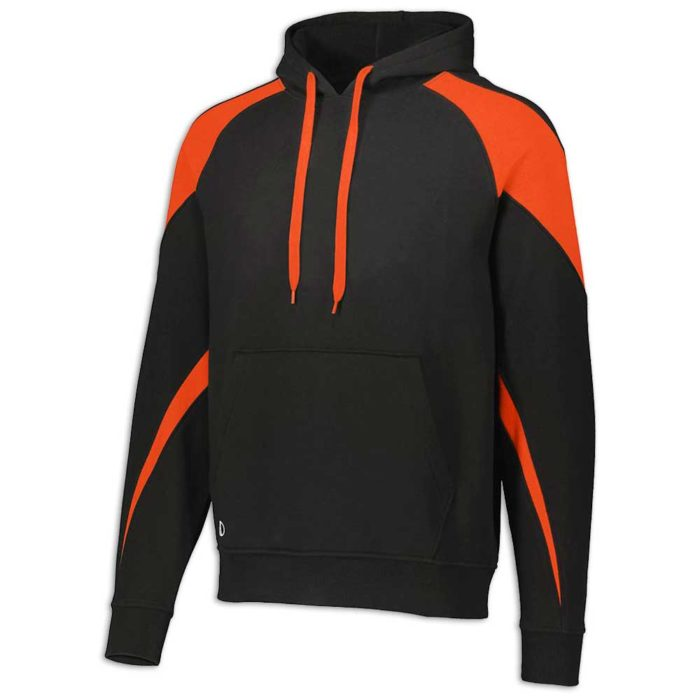 Black and Orange Prospect Hoodie