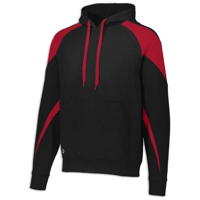 Black and Red Prospect Hoodie