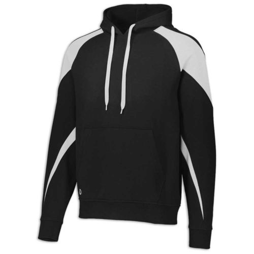 Black and White Prospect Hoodie