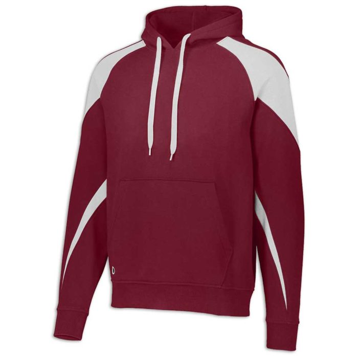Cardinal and White Prospect Hoodie