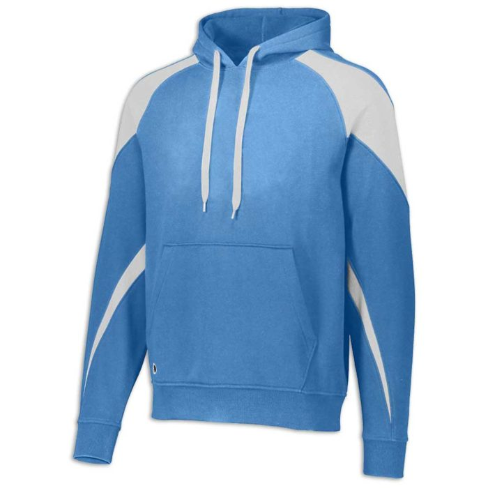 Columbia Blue and White Prospect Hoodie