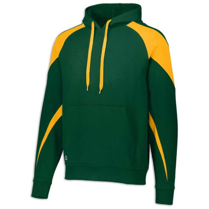 Dark Green and Gold Prospect Hoodie