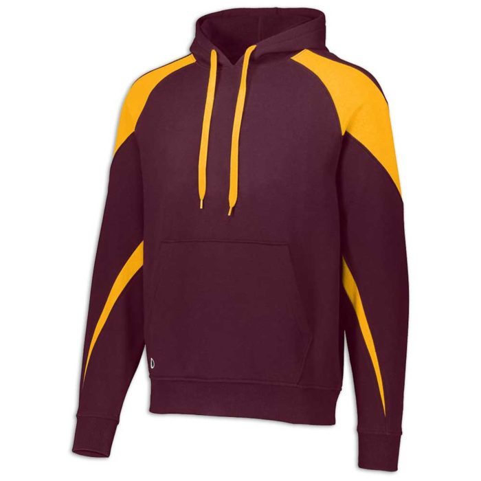 Maroon and Gold Prospect Hoodie