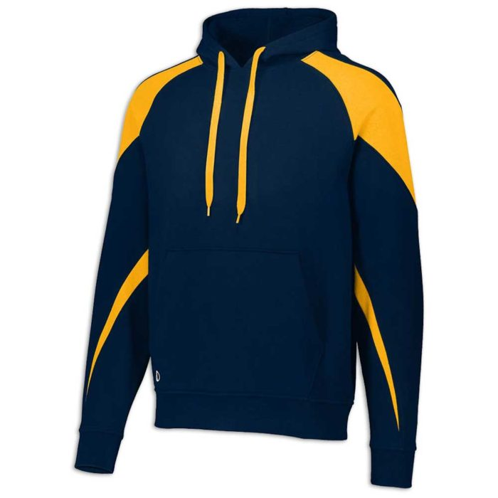 Navy Blue and Gold Prospect Hoodie
