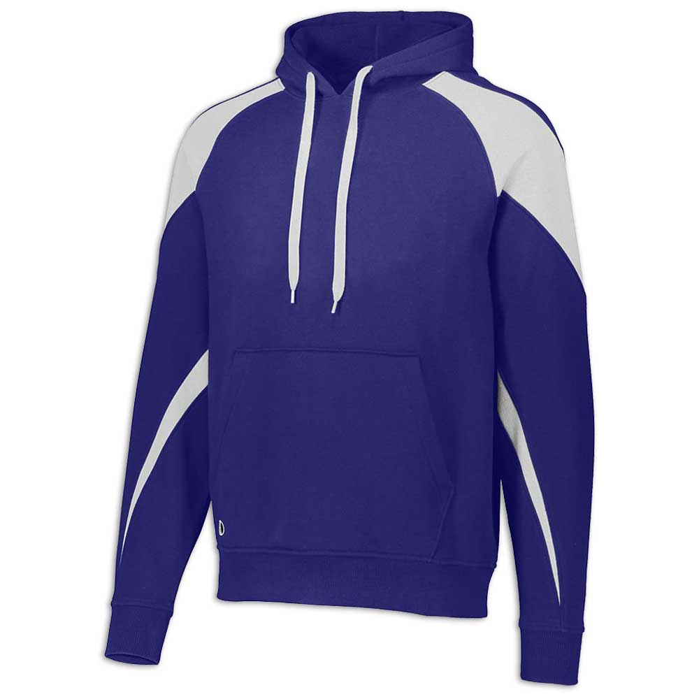 Purple and White Prospect Hoodie