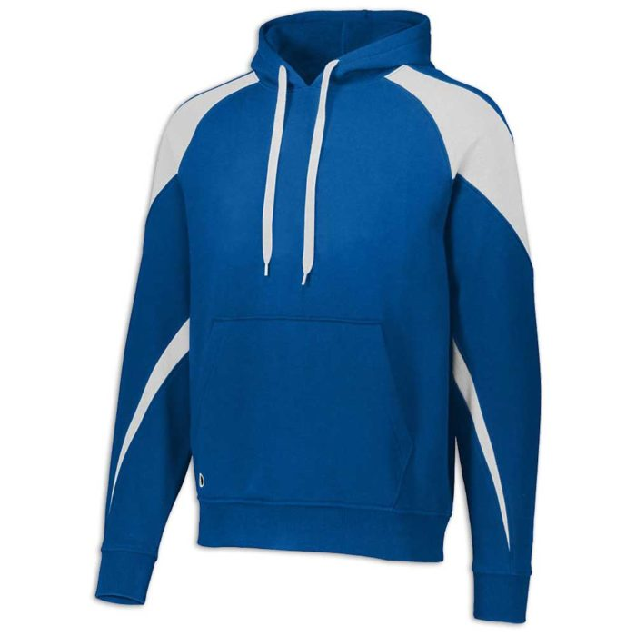 Royal Blue and White Prospect Hoodie