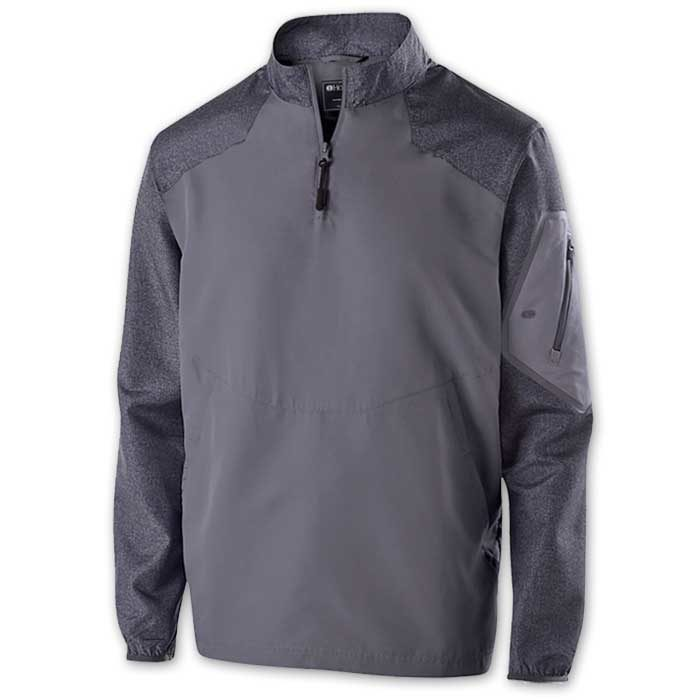 Graphite Raider long Sleeve Pullover Batting Jacket