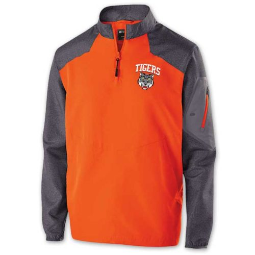 Raider long Sleeve Pullover Batting Jacket
