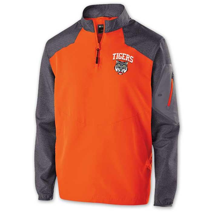 Raider long Sleeve Pullover Batting Jacket