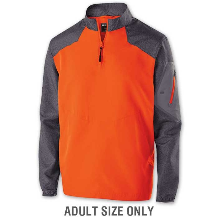Orange Raider long Sleeve Pullover Batting Jacket