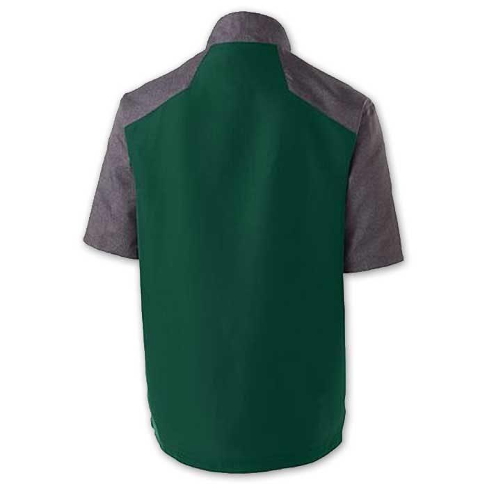 Back of Raider Short Sleeve Pullover Batting Jacket