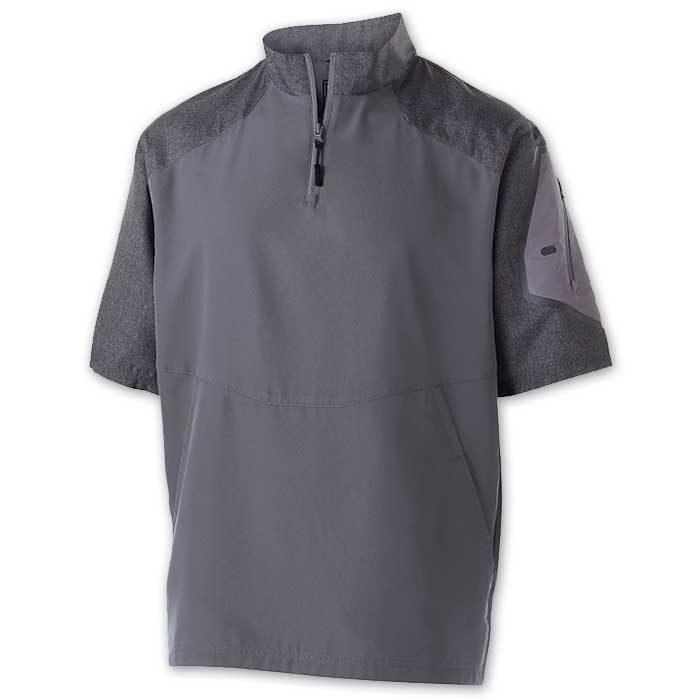 Graphite Raider Short Sleeve Pullover Batting Jacket