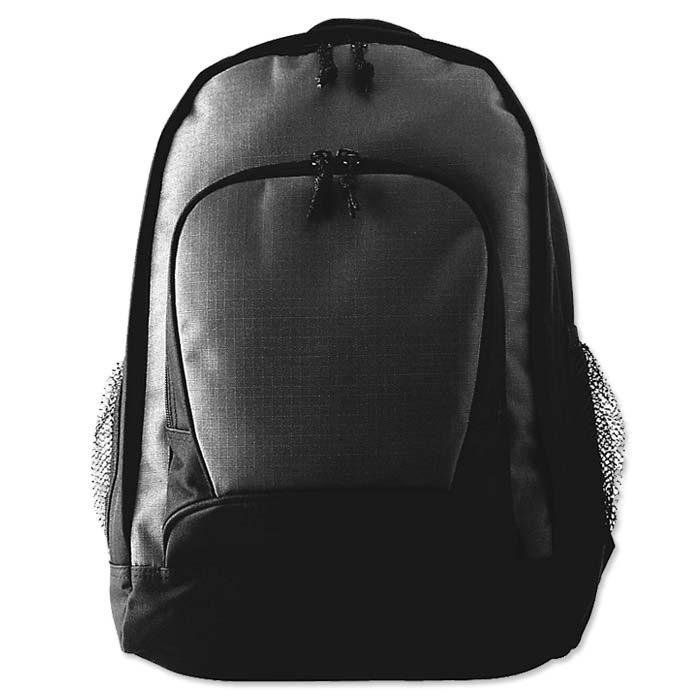Augusta Ripstop Backpack in Black