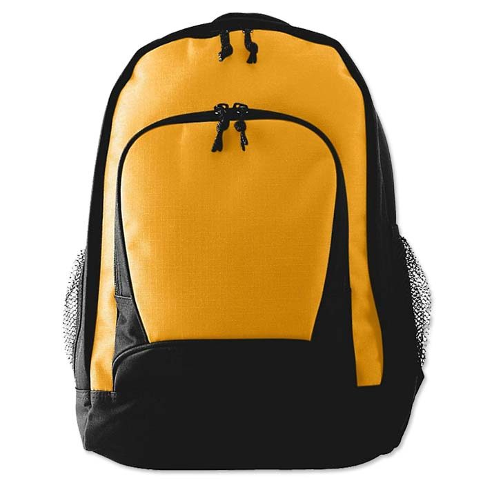 Augusta Ripstop Backpack in Athletic Gold