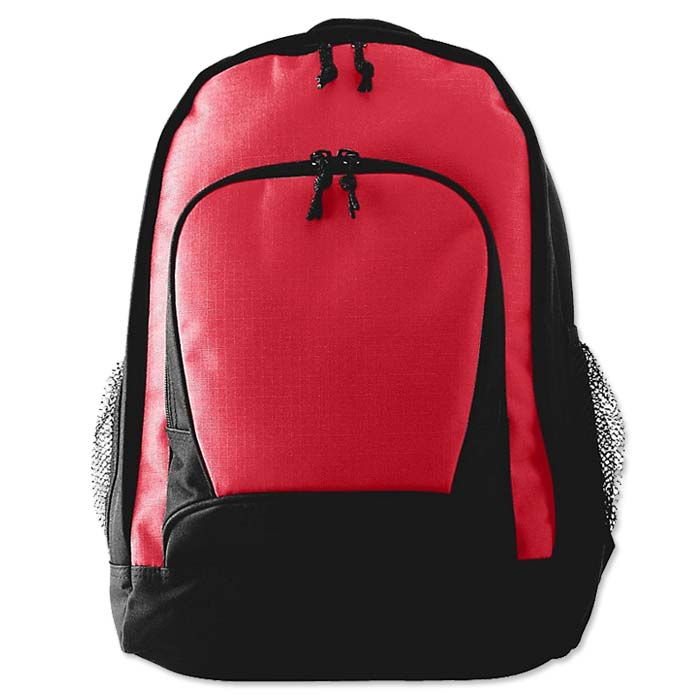 Augusta Ripstop Backpack in Red