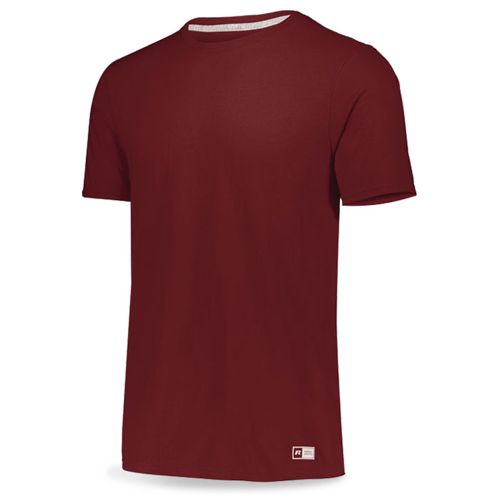 Cardinal Russell Essential Tee Short Sleeve with Your Team Logo