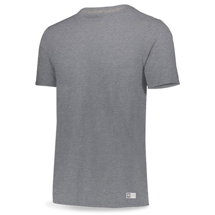 Oxford Grey Russell Essential Tee Short Sleeve with Your Team Logo