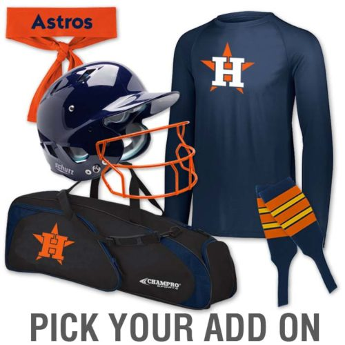 Fastpitch Team Pack Add-Ons, Softball Bags, Custom Stirrups, Helmets, Headbands and More