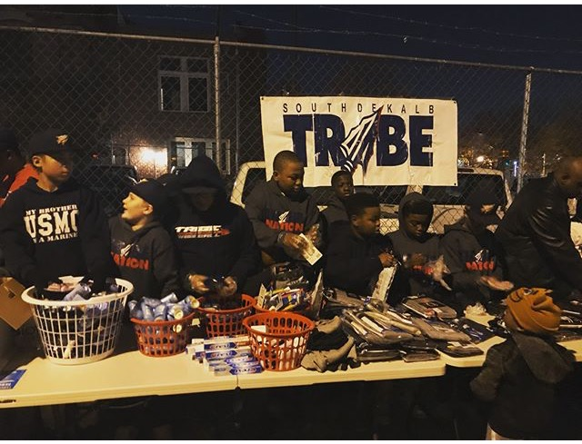 south dekalb tribe 2nd annual holiday giveback