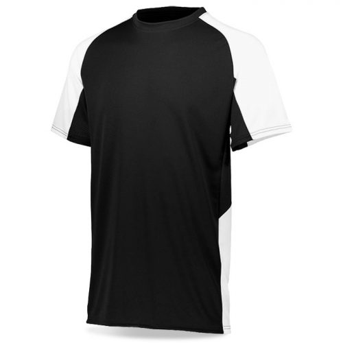 Basketball Step-Back Shooting Shirt in Black and White