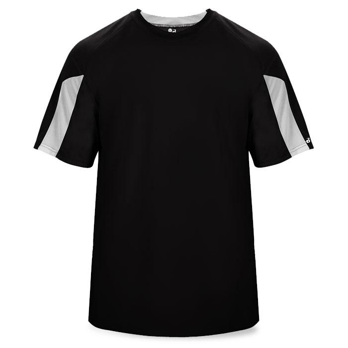 Basketball Striker Shooting Shirt in Black