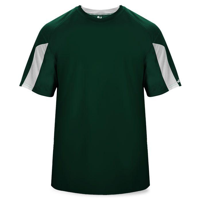 Basketball Striker Shooting Shirt in Forest Green