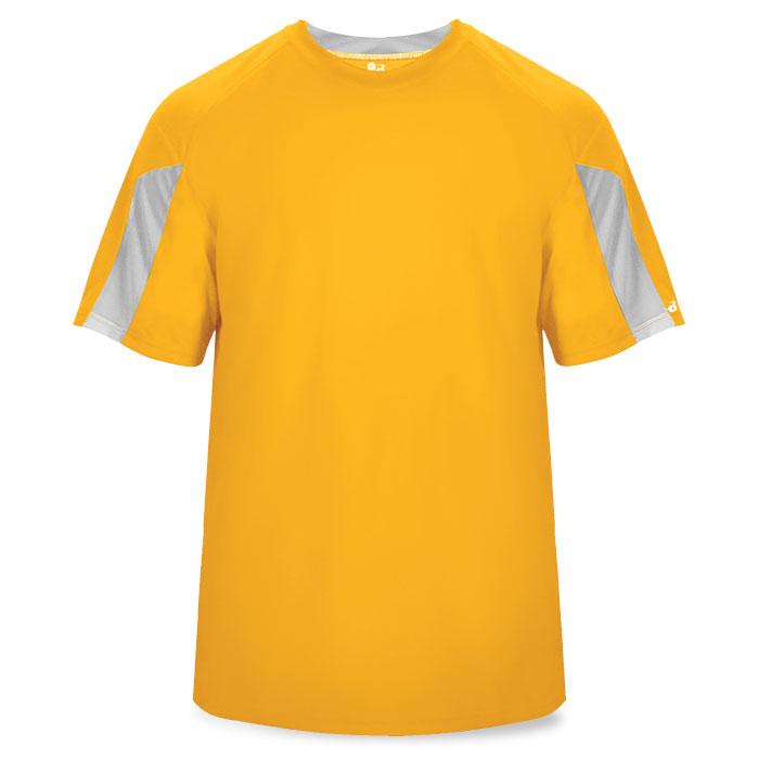 Basketball Striker Shooting Shirt in Gold