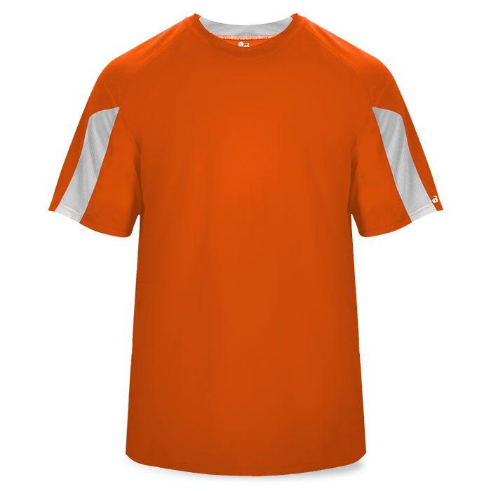 Basketball Striker Shooting Shirt in Burnt Orange