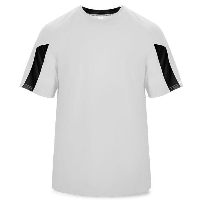 Basketball Striker Shooting Shirt in White