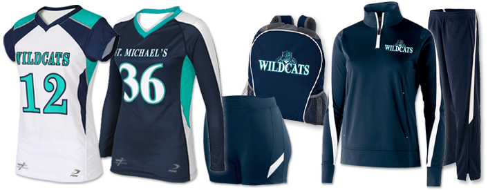 Volleyball Uniform Team Pack Tsunami