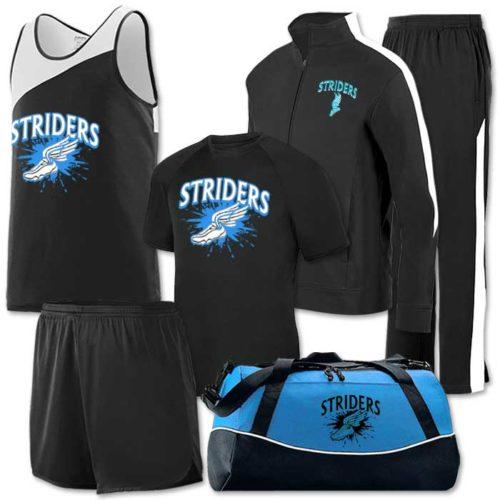 Team Pack Accelerate, Track Singlet, Short, Uniform, Warm-up, Bag