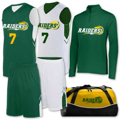 alley-oop basketball uniform package