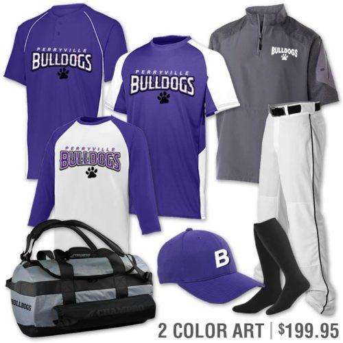 baseball uniform team pack cutter