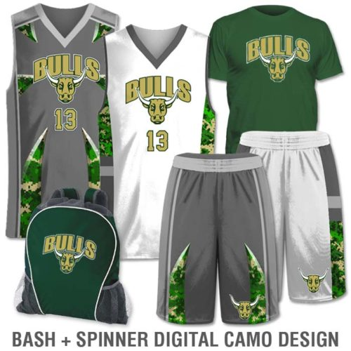 Team Pack Elite Double Double includes Home and Away Custom Sublimated Basketball Game Uniforms