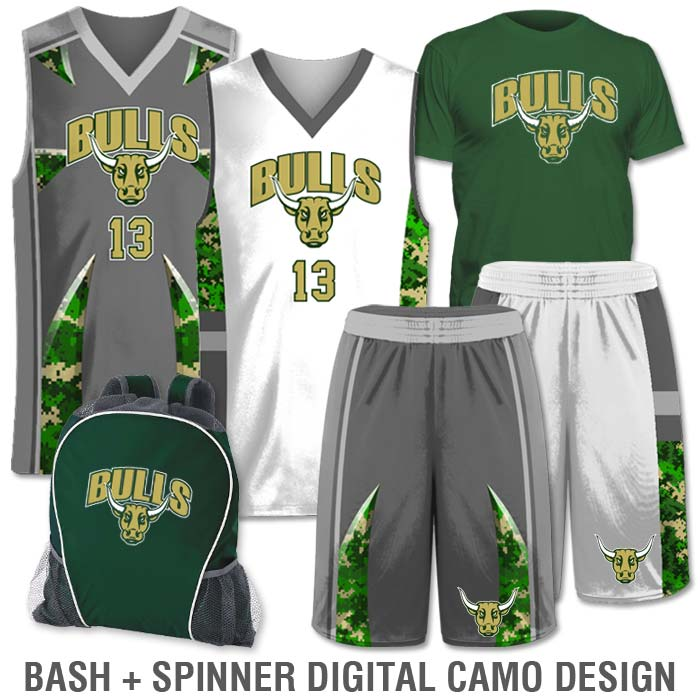 cd66a0348d57 Team Pack Elite Double Double includes Home and Away Custom Sublimated  Basketball Game Uniforms