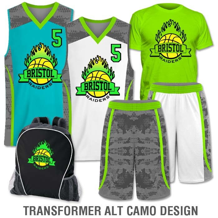 77af8948e Team Pack Elite Double Double includes Home and Away Custom Sublimated  Basketball Game Uniforms