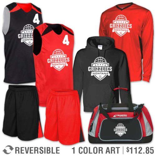 Reversible Basketball Uniform Team Pack Gravitator 2