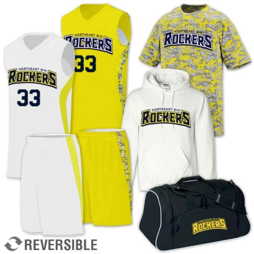 reversible digital camo basketball uniform Team Pack Hook Shot discounted