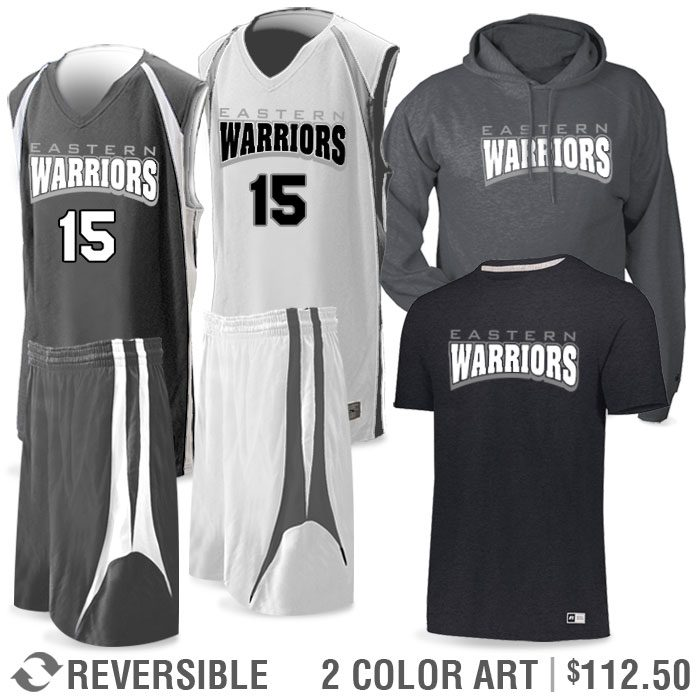 Basketball Team Pack Premier Discounted Package in Charcoal